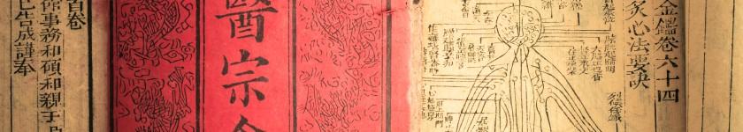 livre de médecine traditionnelle chinoise - antiquité