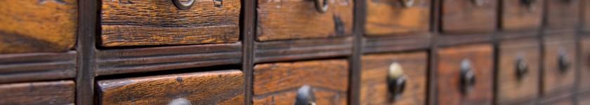 Meuble de pharmacie chinois - antiquité